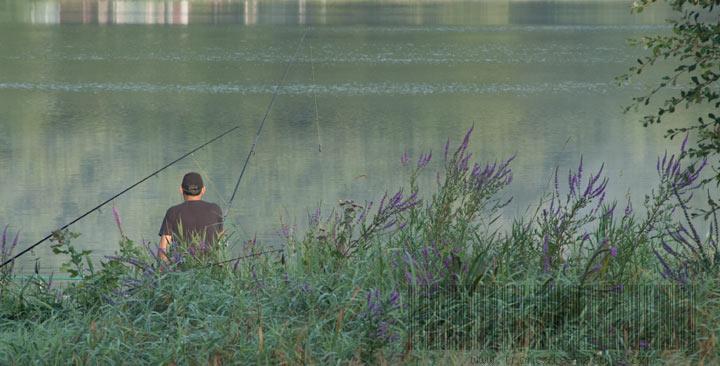 Pêche à l'étang de Pirot