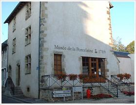 Le musée de la porcelaine de Couleuvre